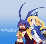 Laharl x Flonne - Together Alw