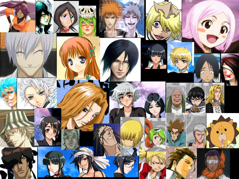 Bleach Collage By Anime Goth Girl