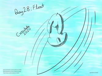 Inktober 2020 - Day 28: Float
