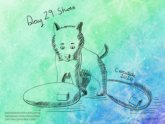 Inktober 2020 - Day 29: Shoes