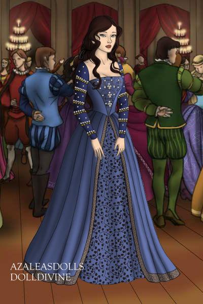 Anne Boleyn, Lady in Waiting Gown by daretoswim7709
