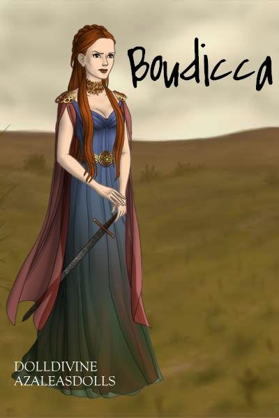 2c2992f27 Boudicca, Queen of the Iceni by daretoswim7709 on DeviantArt