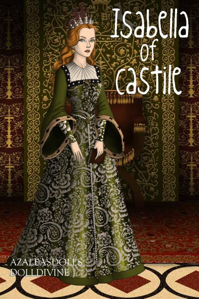 Isabella of Castile, Queen of Spain by daretoswim7709