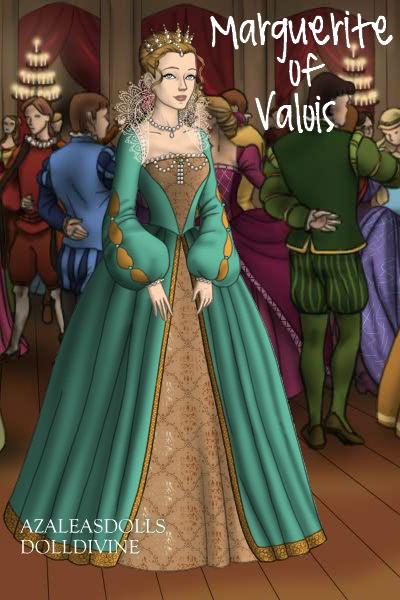Marguerite of Valois by daretoswim7709
