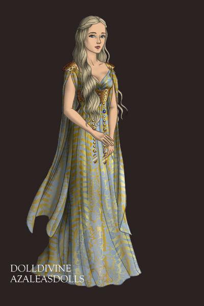 Daenerys, Qarth Gown by daretoswim7709 on DeviantArt