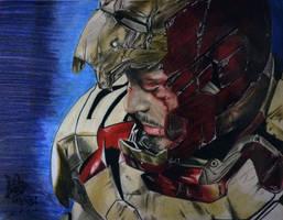 Iron Man by MarinaKalte