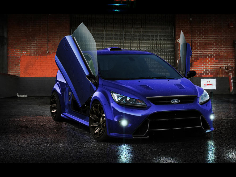 Ford Focus RS Lambo Doors by 7RON7 ... & Ford Focus RS Lambo Doors by 7RON7 on DeviantArt