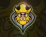Evil King Mascot Logo | For Sale
