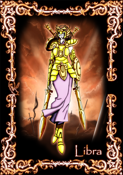 Libra no Gold Saint by SakuraMirror