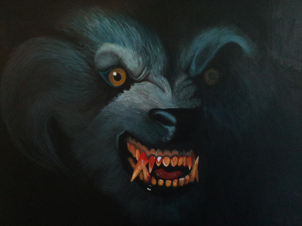 American Werewolf In London By Custom Cartoons On Deviantart