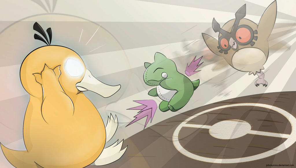 Battle! Hoothoot Used Substitute! by JohnKurosu