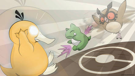 Battle! Hoothoot Used Substitute!