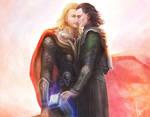 Avengers_Thor _X_ Loki