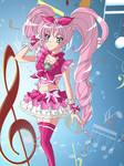 Cure Melody- Suite PreCure by DaisyHarvey