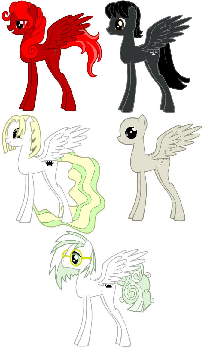 Four Ponies of the Apocalypse by Chelonianmobile