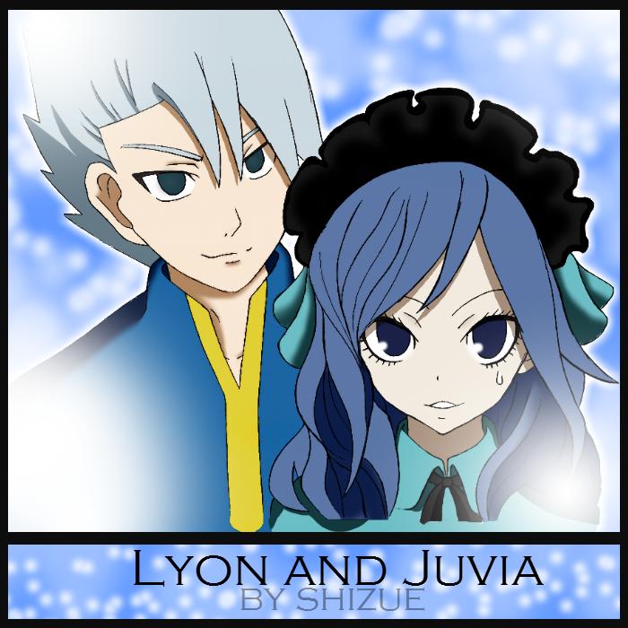 Lyon and Juvia by shizushizu13