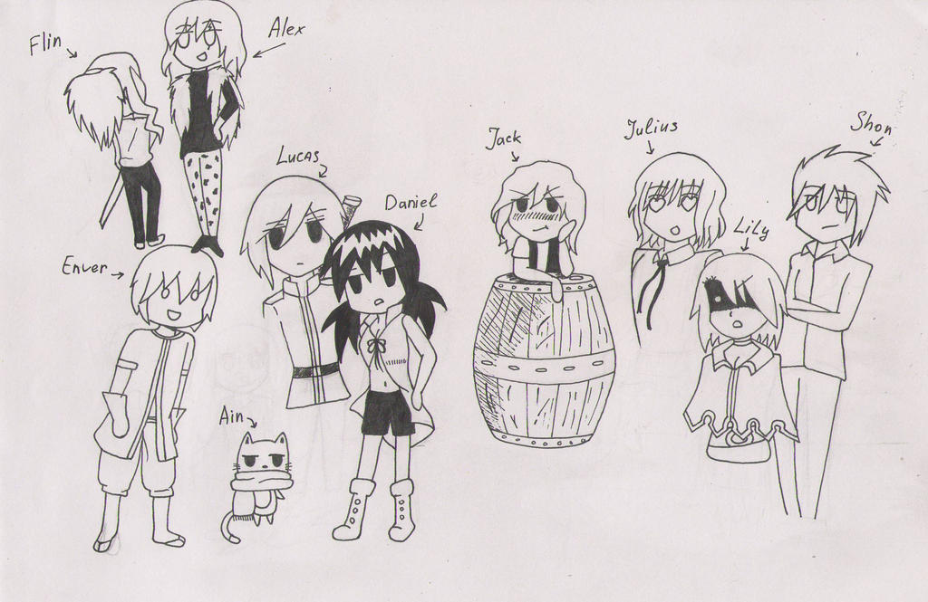 Fairy Tail: The New Generation. by shizushizu13 on DeviantArt
