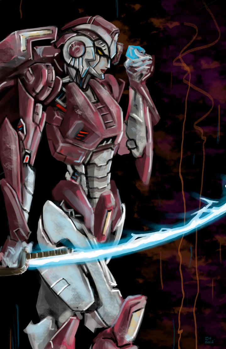 Arcee: Speed Draw by zhenderson