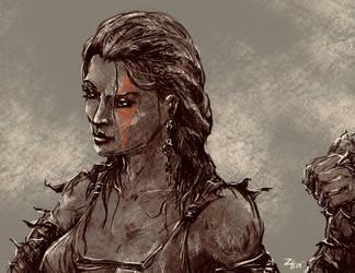 Iridium The Barbarian by zhenderson