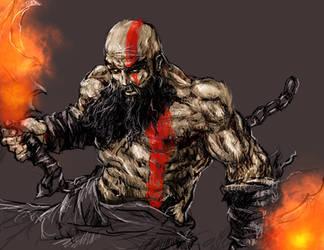 Kratos (WIP) by zhenderson