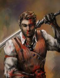 Vlad The Impaler by zhenderson