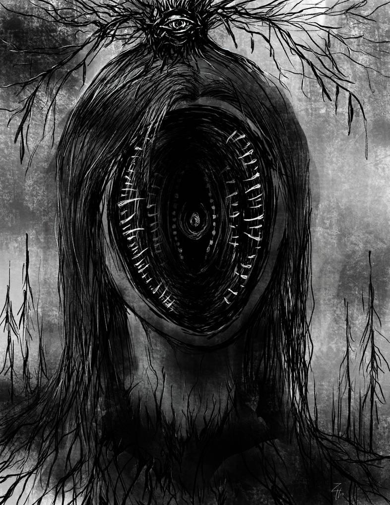 Gaping Horror by zhenderson