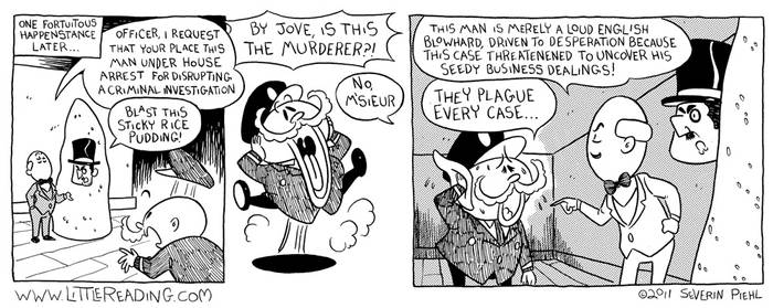 Poirot Comic 5 by Amohs