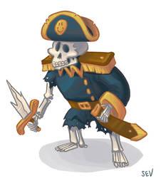 Captain Boney by Amohs