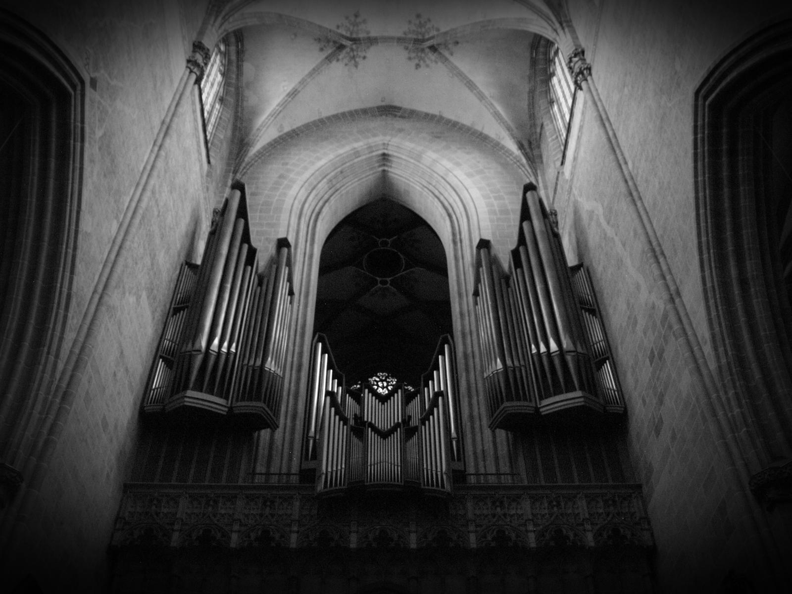 Interior Of A Gothic Cathedral 02 By LordChatter