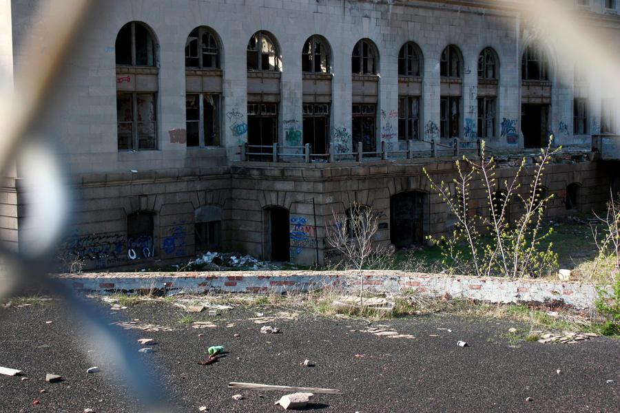 Old detroit train station 1 by artisticatey on deviantart