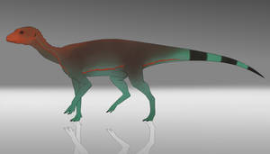 Silesaurus Flatcoloured Adult Female