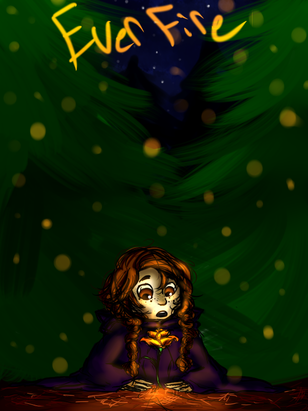 Evergreen and the Everfire by Honey-Bea