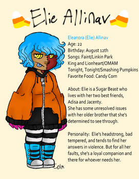 Elie Mini Bio