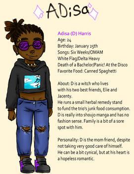 Adisa Mini Bio