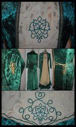 Green Dress by Vanarath