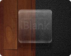 iBlank - Transparent - Jaku Theme on iOS by iGeriya