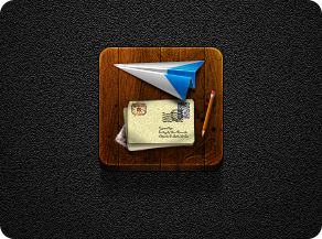 Sparrow Contest Icon #2 - Jaku theme - iPhone/iPod by iGeriya
