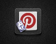 Pinterest Alt#3 for Jaku theme on iPhone/iPod by iGeriya