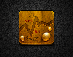 Gold App - Jaku theme for iOS iPhone/iPod by iGeriya