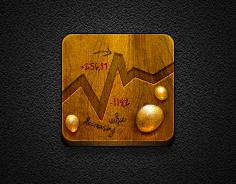 Gold App - Jaku theme for iOS iPhone/iPod by iGeriya