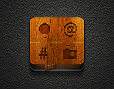 Tweetlogix app icon for Jaku iOS theme iPhone/iPod by iGeriya