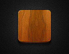 Wooden Icon base #18 - Jaku iOS theme iPhone/iPod by iGeriya