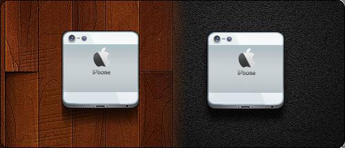 iPhone 5 icon (White) - Jaku iOS Theme by iGeriya