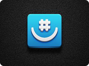 GroupMe (Quickie) - Jaku iOS Theme by iGeriya