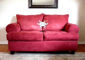 couch pixel by NekoChstr