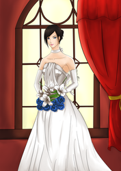 Try on your wedding dress