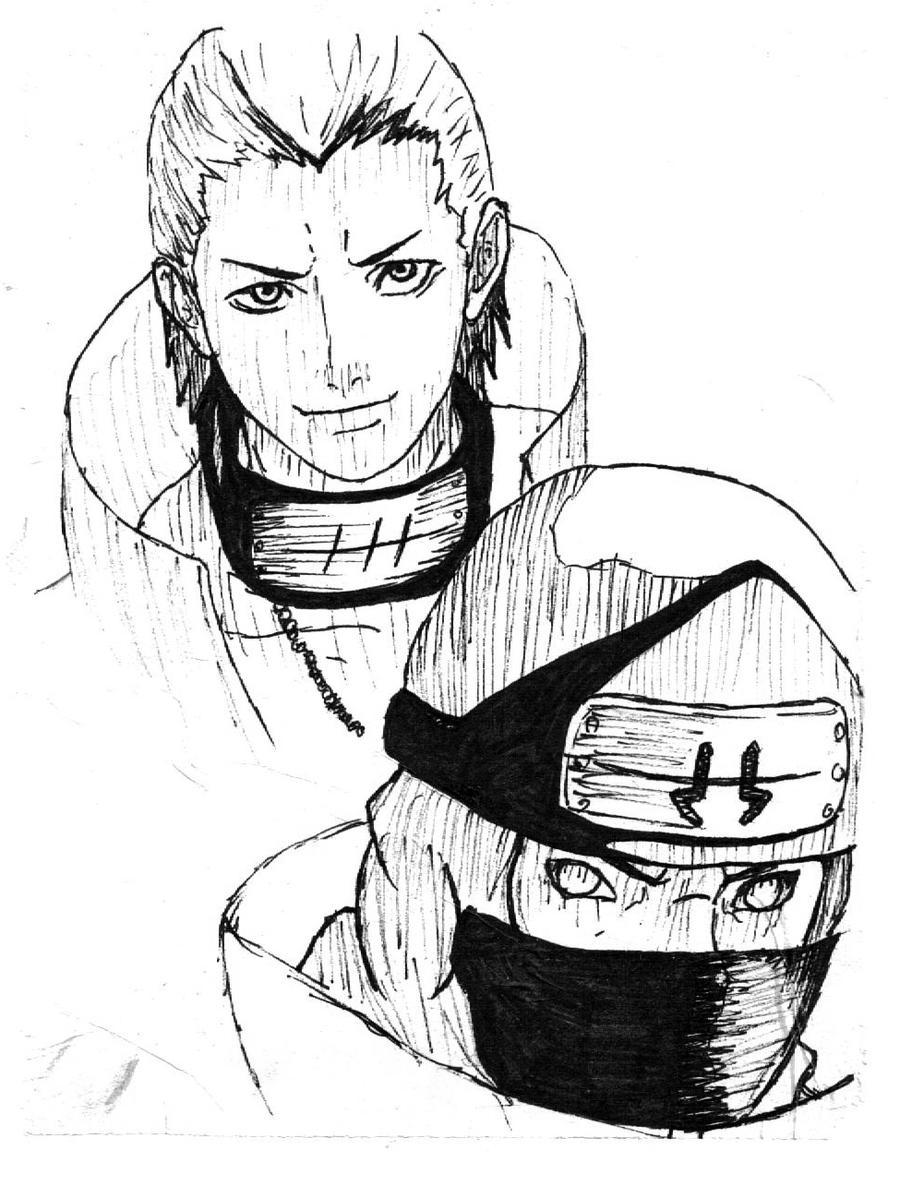 Kakuzu - Hidan by forever-is-overrated