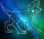 CANIS MAJOR | SCHOOL PROJECT 1/2 by STRAWB3RRY--M1LK