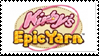 Kirby's Epic Yarn Stamp by Wynau-ru