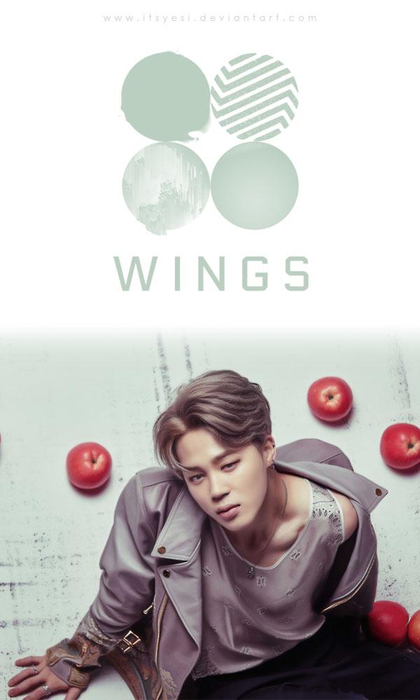 Bts Wings Jimin Wallpaper By Itsyesi On Deviantart